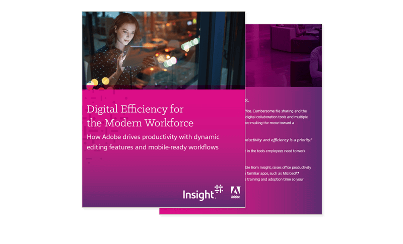 Digital Efficiency for the Modern Workforce ebook cover