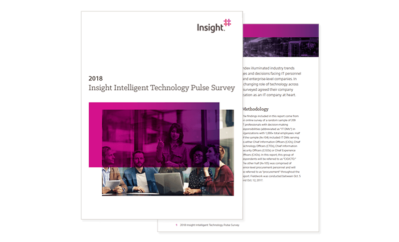 Insight Intelligent Technology Pulse report cover