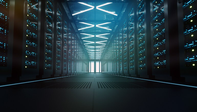 Modern data center. Software-defined, SDDC, infrastructure integration, stabilize IT security