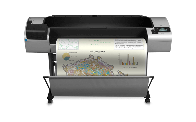 HP DesignJet T1300 PostScript ePrinter - large-format printer - color - ink-jet