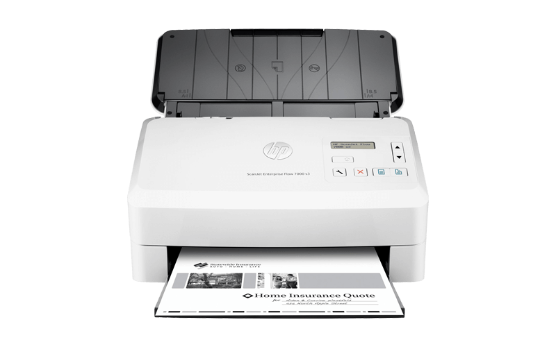 HP ScanJet Enterprise 7000 s2 Sheet-feed Scanner document scanner L2730B#BGJ