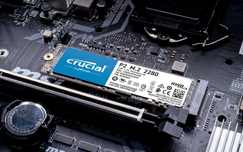 Micron Crucial solid-state drives