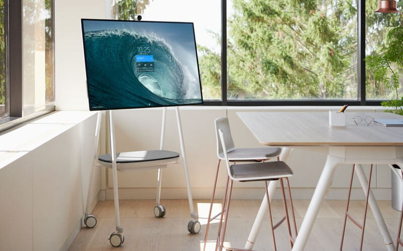 Surface Hub 2S in office space