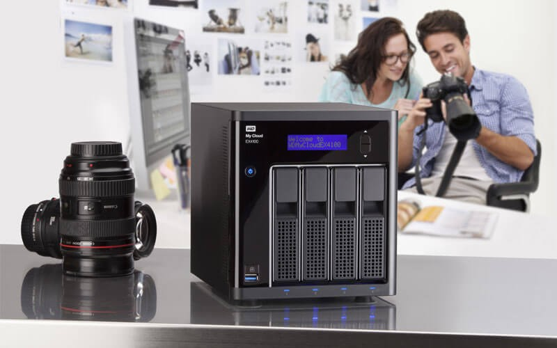 Photographer lifestyle using Western Digital Network Attached Storage